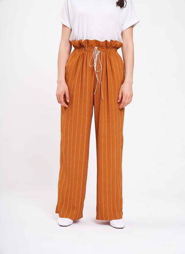 Mizalle Pantolon Sarı